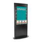 Melamine Coated Slatwall Tower with Leaflet Holders