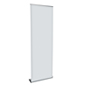 "31"" Roll Up Banner Stand with Magnetic Base"