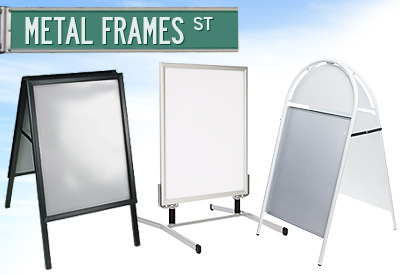 Standard Poster Signs