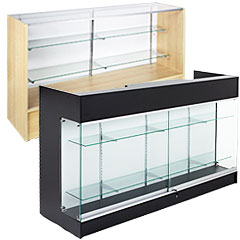 wide counters and cases