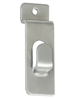 Chrome Slatwall Picture Hook for Silver Store Fixture Collections
