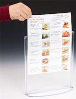 Table Tents & Table Tents | Counter u0026 Tabletop Menu or Sign Holders