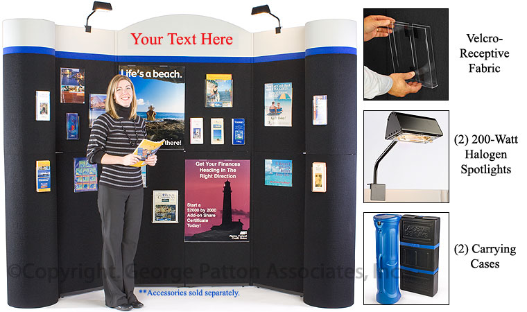 Exhibition Booth Header : Custom trade show display booth fabric backer