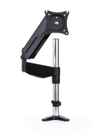 Articulating clamp mount monitor arm for up to 27-inch screens