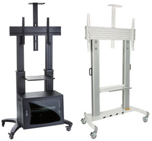 Tv Stands Portable Flat Screen Displays