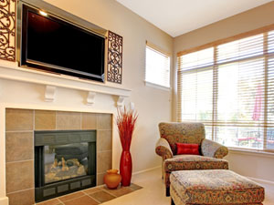 Mounting Above A Fireplace Without Proper Heat Ventilation