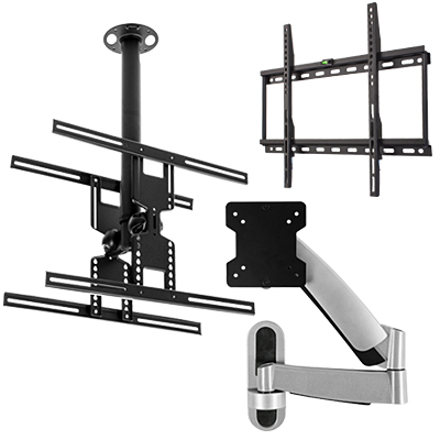 monitor stands universal flat screen tv mounts. Black Bedroom Furniture Sets. Home Design Ideas