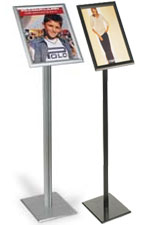 Floor Display Stands are designed with Graphic Frame