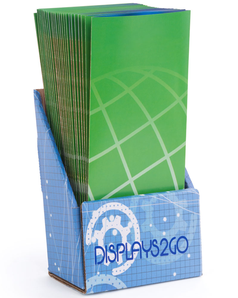 UV Printed Cardboard Brochure Holder