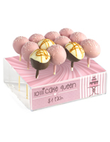 Brandable Cake Pop Display Rack with Sign Header