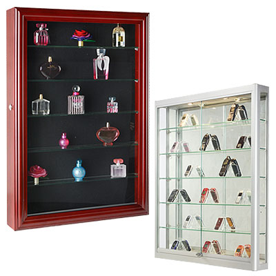 Wall Mount Cases  sc 1 th 225 & Display Cabinets | Commercial Glass Cases for Retail Stores