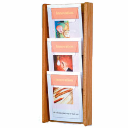 wallmount magazine holder