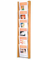 wallmount magazine rack