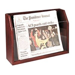newspaper holder