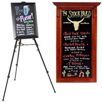 Displays for Wet-Erase Signage