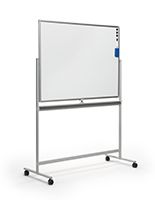 48 x 36 dry-wipe rolling whiteboard