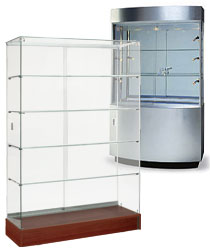 wide display cases