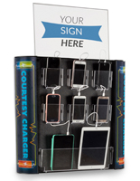 Multi Device Charging Kiosk for Inside Use
