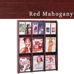 wallmount brochure holder