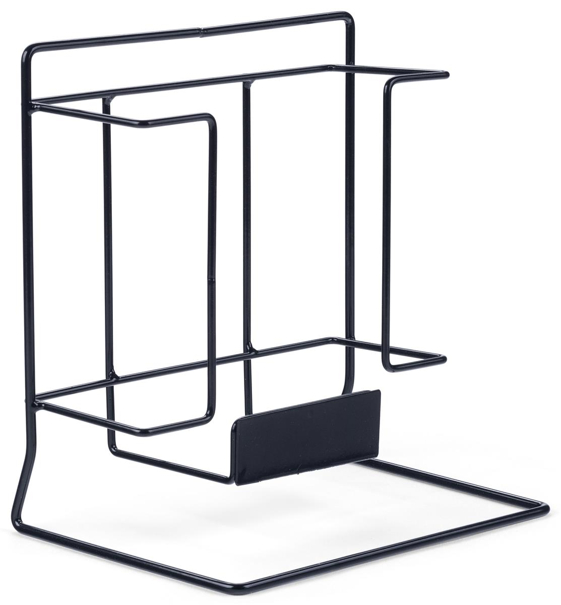 Single Wire Magazine Rack | Label Holder Included