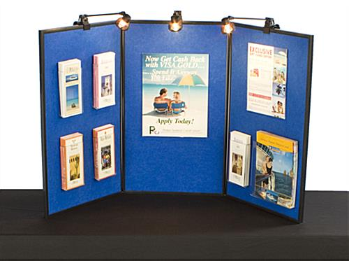 Portable Exhibition Panels : Portable panels for tradeshow fabric whiteboar displays