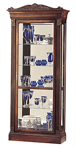 cherry display cabinet