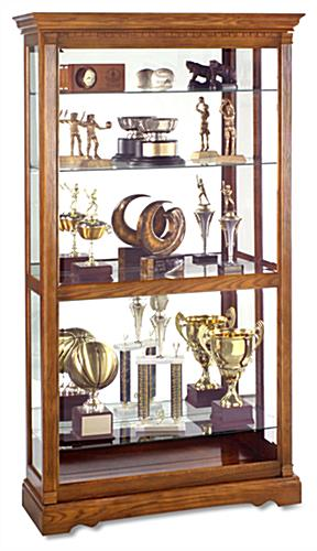 This Trophy Case For Collectibles Is Designed By Howard Miller