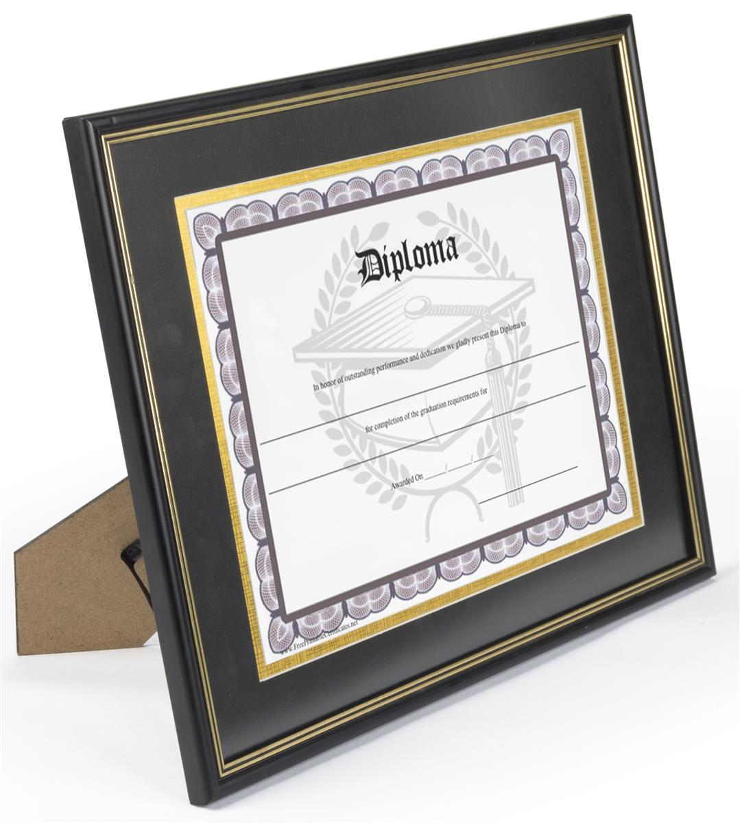 """Double Matted Diploma Frame 