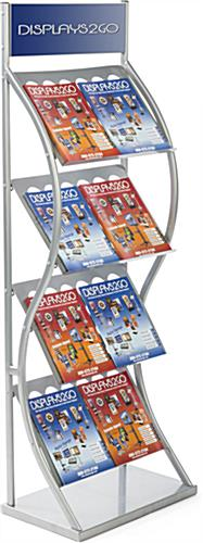 Trade Show Pop Up Literature Stand