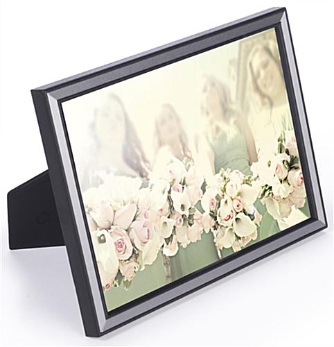 5x7 Aluminum Black Photograph Holder