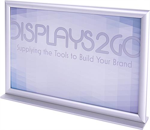 Stand Up Sign Holder for Advertisements