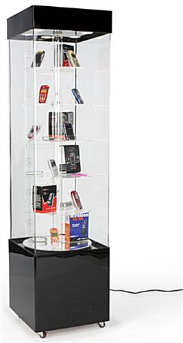 Rotating Display Case Acrylic 72 Quot Height
