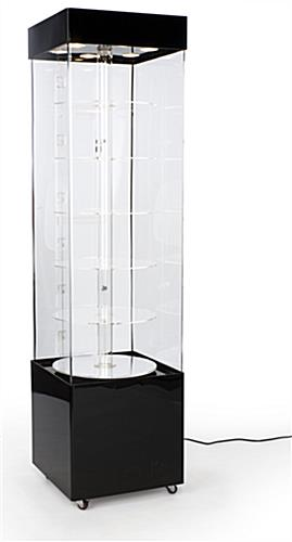 rotating display case
