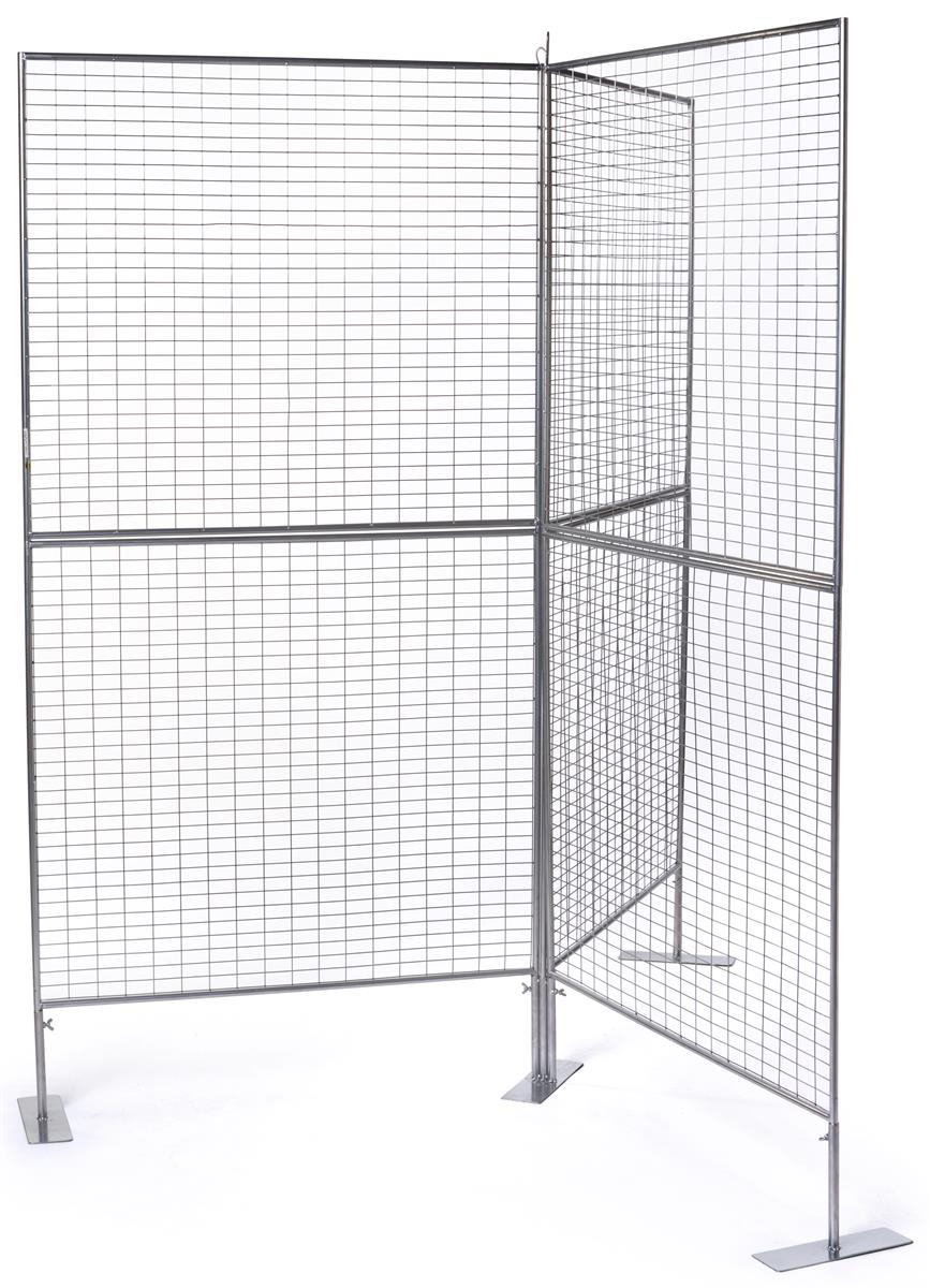 Y Shaped Gridwall Displays 2 Quot X 1 Quot Mesh