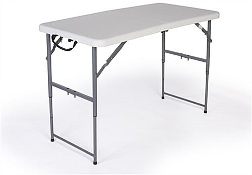 Delicieux Folding Table With Adjustable Height ...