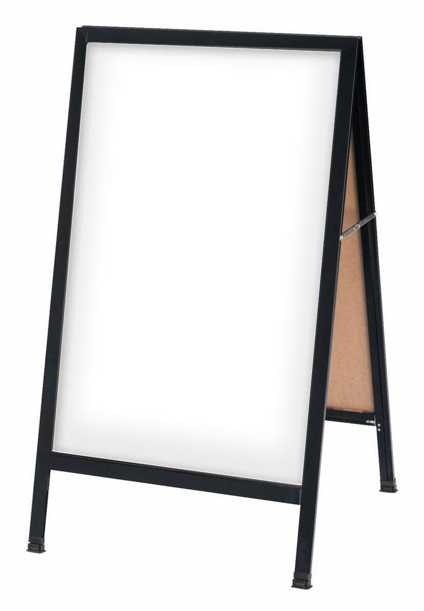 Dry Erase Sidewalk Boards | Double-Sided Signs for Markers
