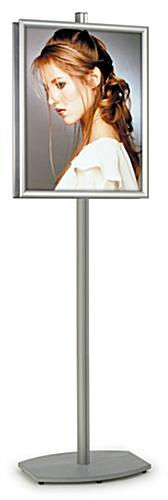 snap frame display stand