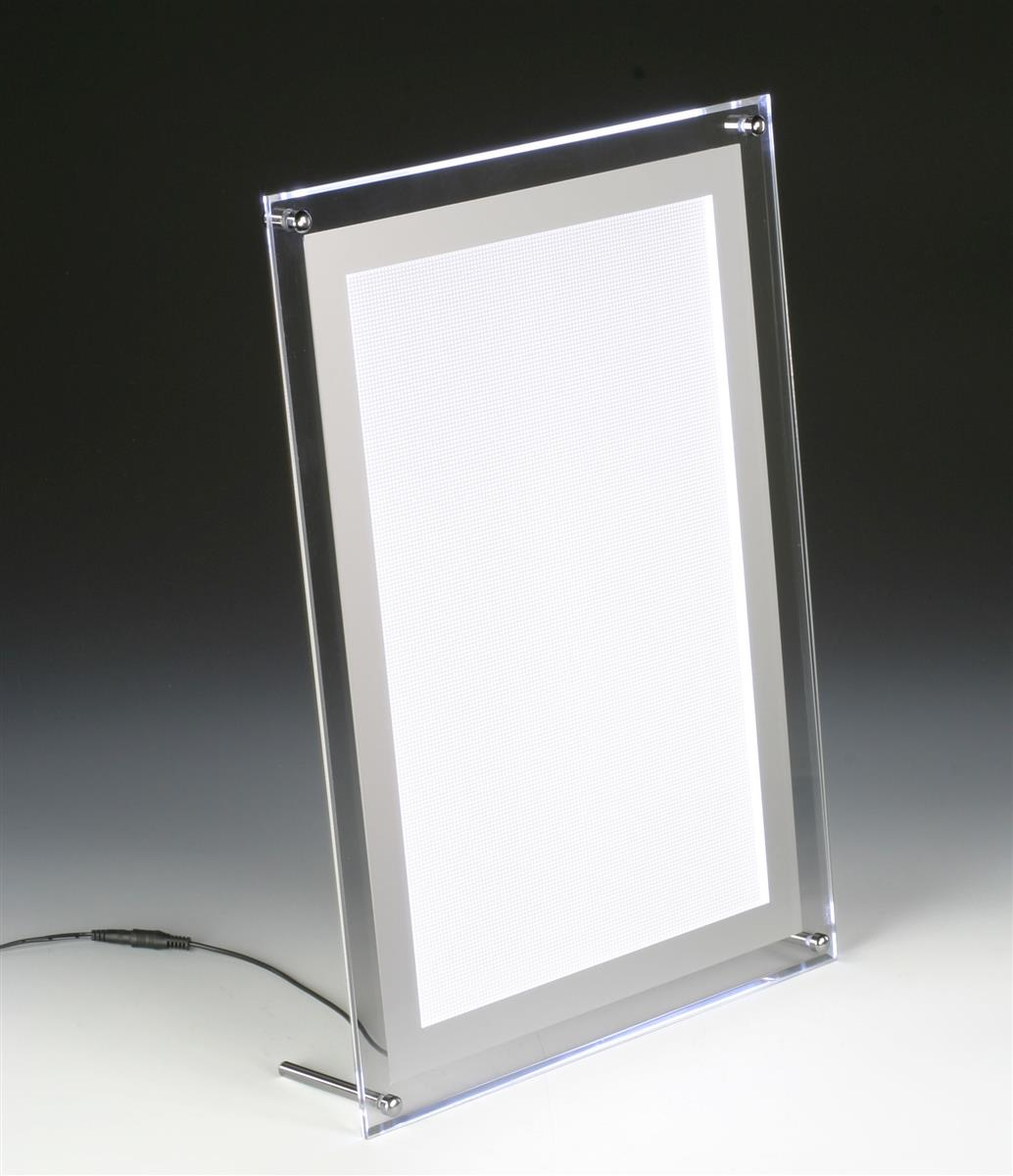 This picture frame will light up any sign picture and this picture frame will light up any sign picture and advertisement with led technology more illuminated photo frames in stock and online buy today jeuxipadfo Images
