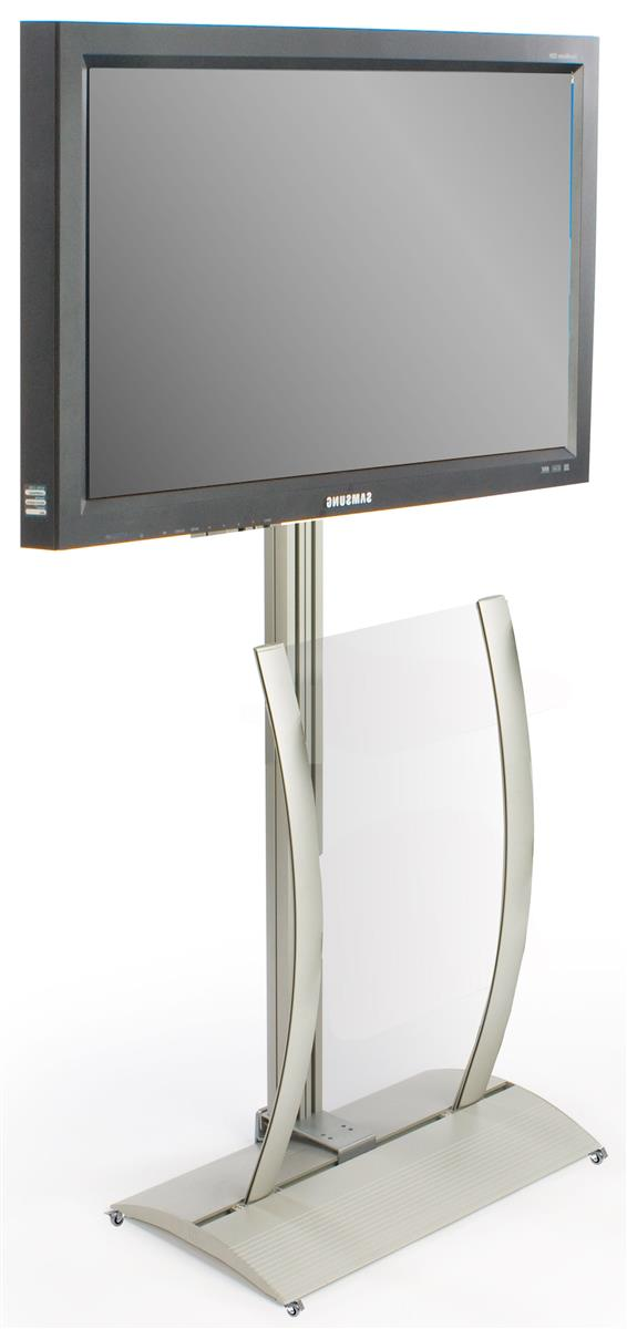 Tv Stand Floor Standing Mount For Flat Screen Monitors