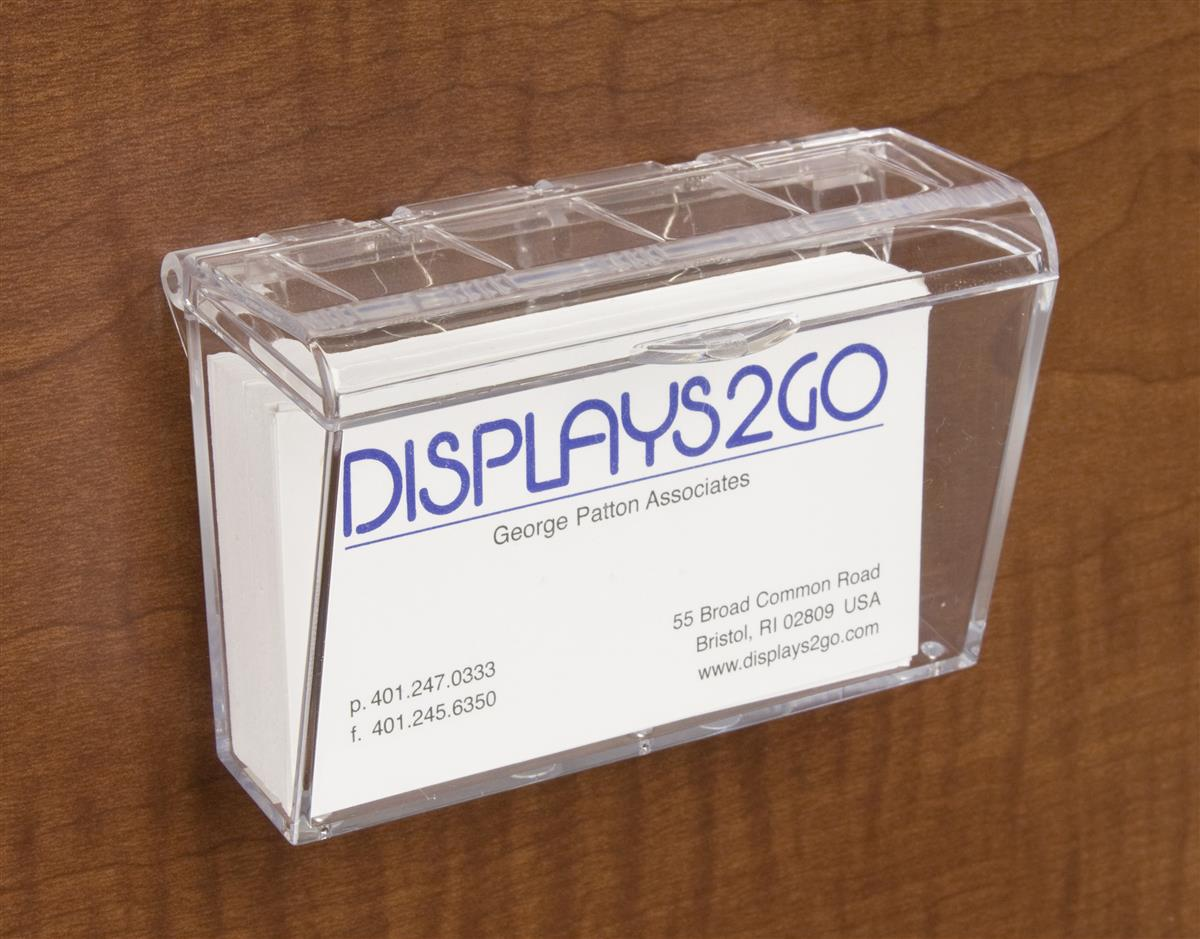 Hinged business card holder outdoor promotional display magicingreecefo Images