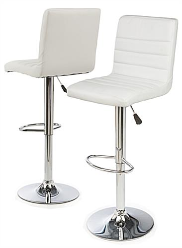 Attrayant Adjustable Height Bar Stool With Foot Rest ...