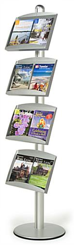 FORTE Brochure Stand: 4 Pocket