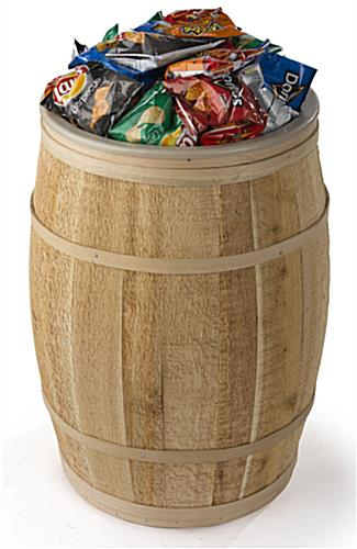 Lined Bulk Food Barrel for General Stores
