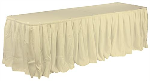 Wedding Table Skirt For Round And Rectangular Tables