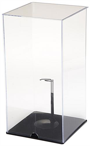 Acrylic Doll Display Case & Support Stand