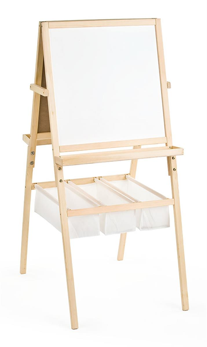 These Two Sided Stands Come With A Chalkboard And Dry