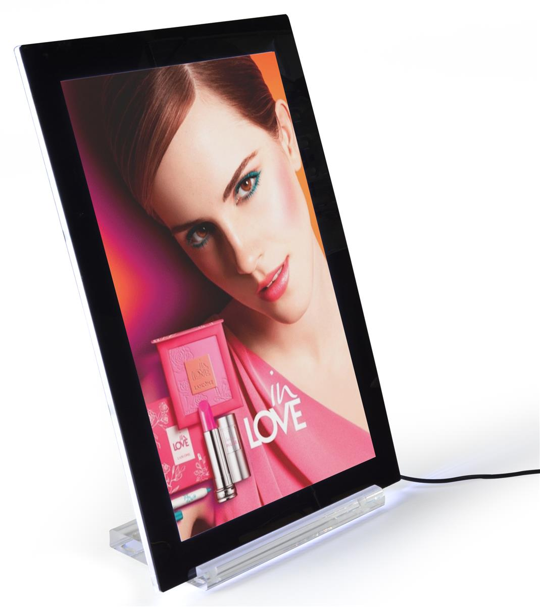 This Lighted Pictureframe Turns 11x17 Images into Illuminated Ads ...