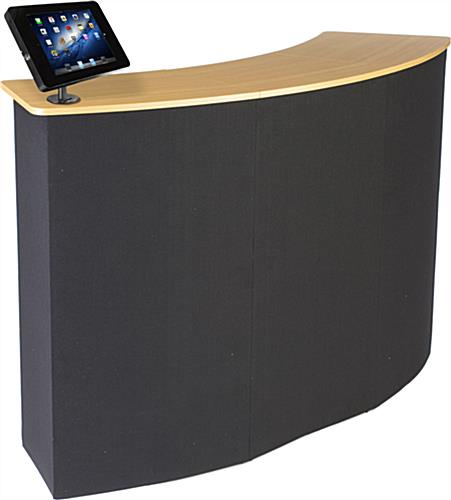 Trade Show Counter with iPad Holder