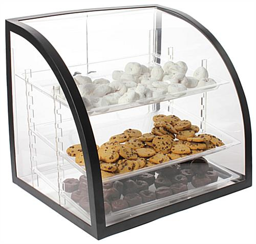 This Bakery Display Case Ensures The Dry Food Remains