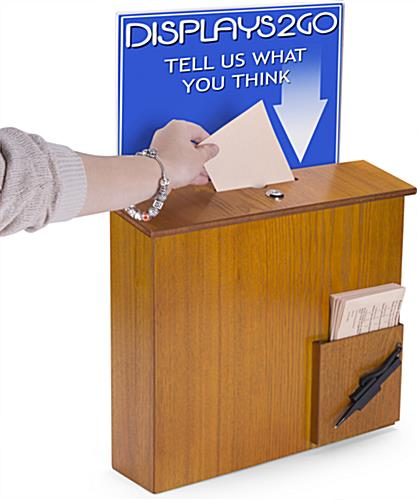 Wall Mounted Suggestion Box for Offices
